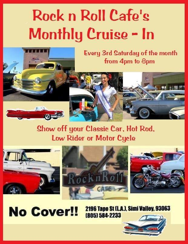 Rock And Roll Cafe Simi Valley Car Show